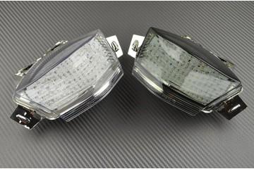 Fanale posteriore indicatori di direzione integrato per Kawasaki ER6 N F 2006/2008