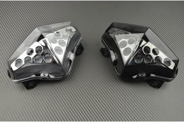 LED-Bremslicht mit integrierten Blinker für Kawasaki ER6 N F 2011/2016