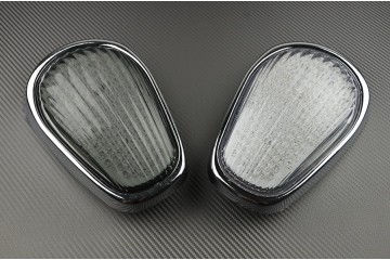 LED Taillight with Integrated turn signals for Kawasaki Vulcan VN2000