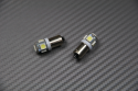 Pair of BA9S Cap LED Position Lights