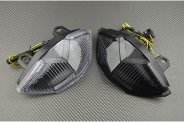 Feu Stop Led Clignotants Intégrés Kawasaki Z1000 2010 / 2013 Z1000 SX et Versys 650 2011 / 2020