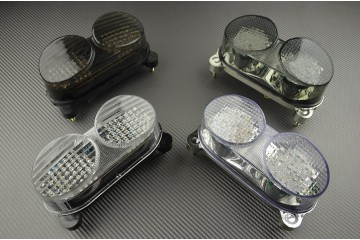 Led Taillight With Integrated Turn Signals For Kawasaki Zr7 Zx6r