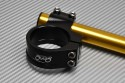 Pair of clip-on handlebars 43 mm