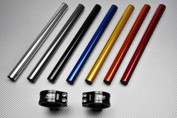 Pair of clip-on handlebars 50 mm