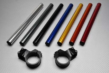 Pair of clip-on handlebars AVDB 45 mm