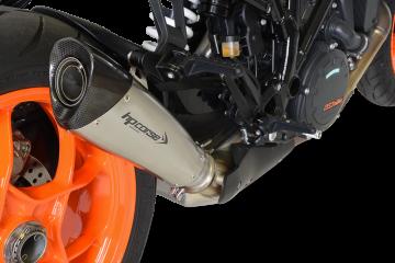 Medio sistema de escape HP CORSE KTM 1290 SUPERDUKE R 2018 - 2019