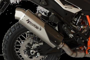 Medio sistema de escape HP CORSE KTM super adventure 1290 R 2017-2019