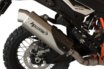 Slip-on exhaust HP CORSE KTM super adventure 1290 R 2017-2019