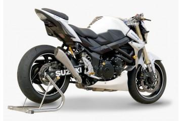 Medio sistema de escape HP CORSE SUZUKI GSR 750 2011-2015