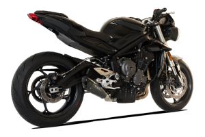 Slip On Auspuffanlage HP CORSE TRIUMPH STREET TRIPLE 765 S / RS 2017 - 2018