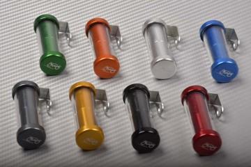 Kleiner rohrförmiger Versicherungsaufkleberhalter mit neuem Design