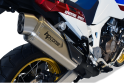 Slip-on exhaust HP CORSE HONDA AFRICA TWIN 2016 - 2019