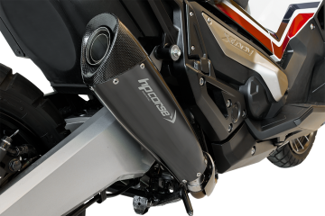 Slip-on exhaust Black HP CORSE HONDA X-ADV 750 2017 - 2019