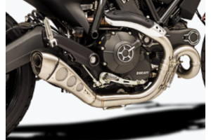 Slip-on exhaust Black HP CORSE DUCATI SCRAMBLER 800 2015 - 2019