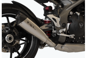 Slip On Auspuffanlage HP CORSE TRIUMPH SPEED TRIPLE 1050 S / R 2016 - 2017