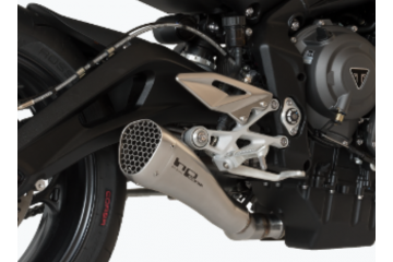 Slip-on exhaust HP CORSE TRIUMPH STREET TRIPLE 765 R / S / RS 2017 - 2018