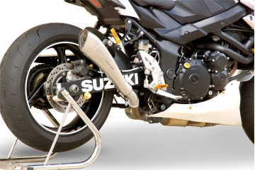 Slip-on exhaust HP CORSE SUZUKI GSR 750 2011-2015