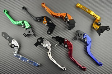 Leva freno regolabile / pieghevole Aprilia RS 125, SR300, Tuono 125 & Yamaha XT 600, XTZ 750, TT600