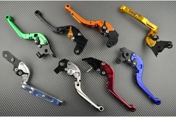 Levier de Frein Ajustable Repliable pour Aprilia RS 125,Scooter SR300,Tuono 125 et Yamaha XT 600, XTZ 75,TT600 et FZR 1000