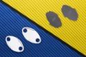 Rearview Mirrors Block Off Plates KAWASAKI - UNIK by Avdb