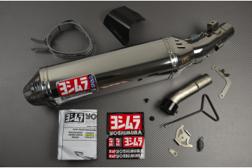 Slip-On Exhaust KAWASAKI ZX6R 2009 - 2012 YOSHIMURA TRC Stainless Steel
