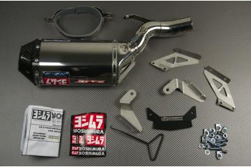 Terminale YOSHIMURA RS5 Inox / Carbonio  Kawasaki ZX6R 2007 / 2008