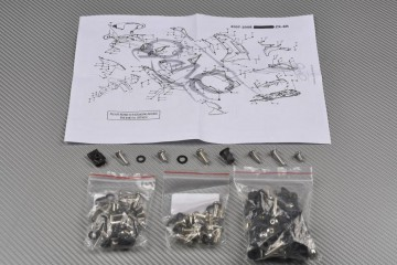 Kit Visserie Carénages Complets KAWASAKI ZX6R 2007 - 2008