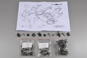 Schraubensatz Komplettverkleidung SUZUKI GSXR 600 750 2011 - 2017