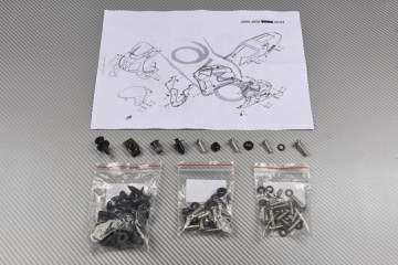 Complete Fairings Fastening Hardware Set Honda VTR SP1 SP2 99 / 04