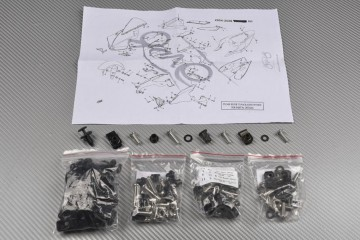 Kit Visserie Carénages Complets YAMAHA R1 2004 - 2006