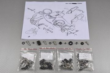 Kit Visserie Carénages Complets YAMAHA FZR 600 1989 - 1997