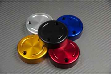Anodised Front Brake Fluid Reservoir Cap - 2 Fastening Holes Model