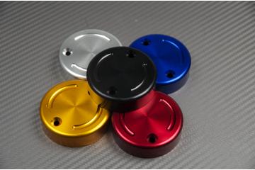 Eloxierte vordere Bremsflüssigkeitsbehälterkappe 2-Loch-Modell
