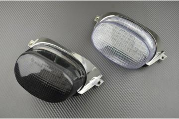 Feu Stop Led Clignotants Intégrés Suzuki GSXR SRAD 600 750 et 1100 96 / 00