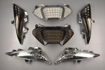 SET Fanale posteriore  + frecce anteriori - Posteriore YAMAHA TMAX 500 2008 - 2011