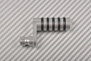 Schalthebelkopf aus eloxiertem Aluminium