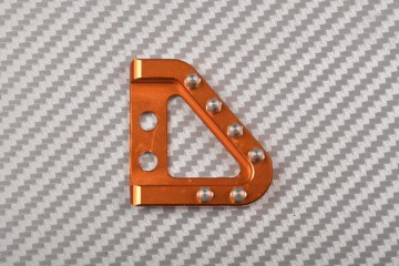 Gear pedal tip in anodised aluminum