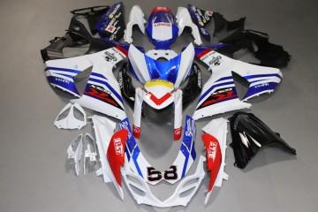 Komplette Motorradverkleidung für SUZUKI GSXR 1000 2009 / 2016