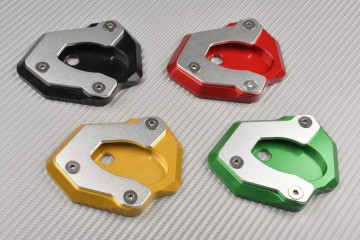 Anodised aluminum sidestand foot enlarger KAWASAKI Z650 / Z900
