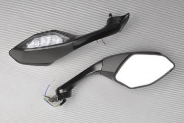 Paar Verstellbarer Rückspiegel mit Blinker YAMAHA R1 2015 / 2019