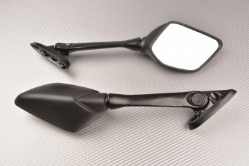Pair of Aftermarket Rearview Mirrors with Integrated Turn Signals YAMAHA YZF R3 2016 / 2018
