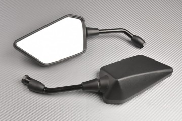 Pair of Aftermarket Rearview Mirrors with Integrated Turn Signals KAWASAKI ER6 N 2012 / 2016