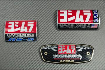 Badge pour pot d'échappement YOSHIMURA TRS R-77 RS-5