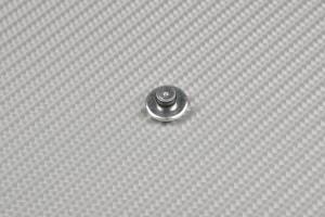 Screw cover in anodised aluminum