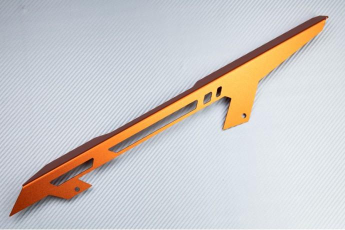 Chain guard in anodised aluminum KTM DUKE 125 200 390