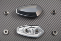 Anodised Aluminum Rearview Mirrors Block Off Plates Numerous YAMAHA KAWASAKI SUZUKI