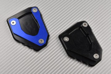 Anodised aluminum sidestand foot enlarger BMW G310R 2017 - 2020