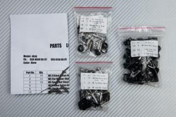 Complete Fairings Fastening Hardware Set SUZUKI GSXR 600 750 2006 - 2007