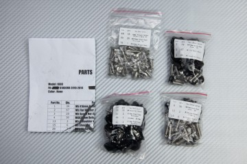 Schraubensatz Komplettverkleidung BMW S1000RR / HP4