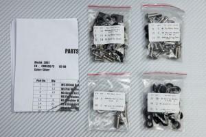 Kit Visserie Carénages Complets HONDA CBR 600 F 1995 - 1998